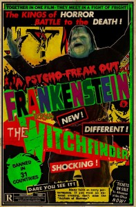 FRANKENSTEIN VS THE WITCHFINDER - COVER