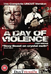 A Day of Violence - British Uncut DVD