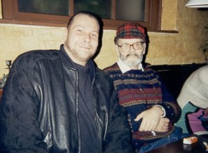 Director Andreas Schnaas at a Meeting with the Italian Godfather of Gore Lucio Fulci (R.I.P.)